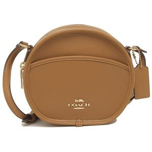 Canteen Crossbody In Smooth Calf Leather Saddle